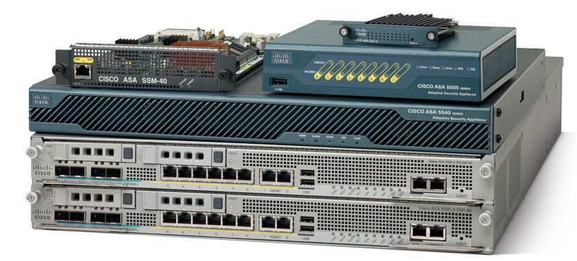 В состав семейства Cisco ASA входят модели Cisco ASA 5512-X, Cisco ASA